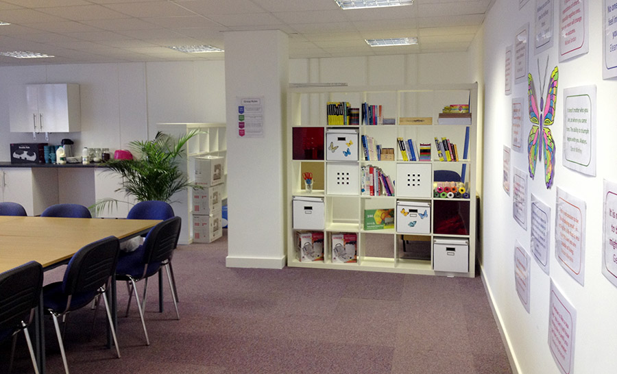 an image of BCWA Luna Project space for Women's Justice Services