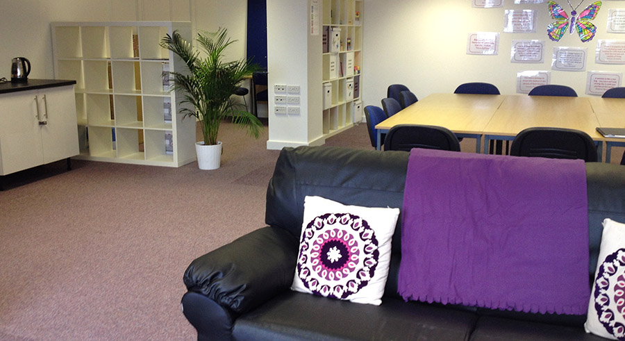 New Chance space for BCWA Women's Justice Services