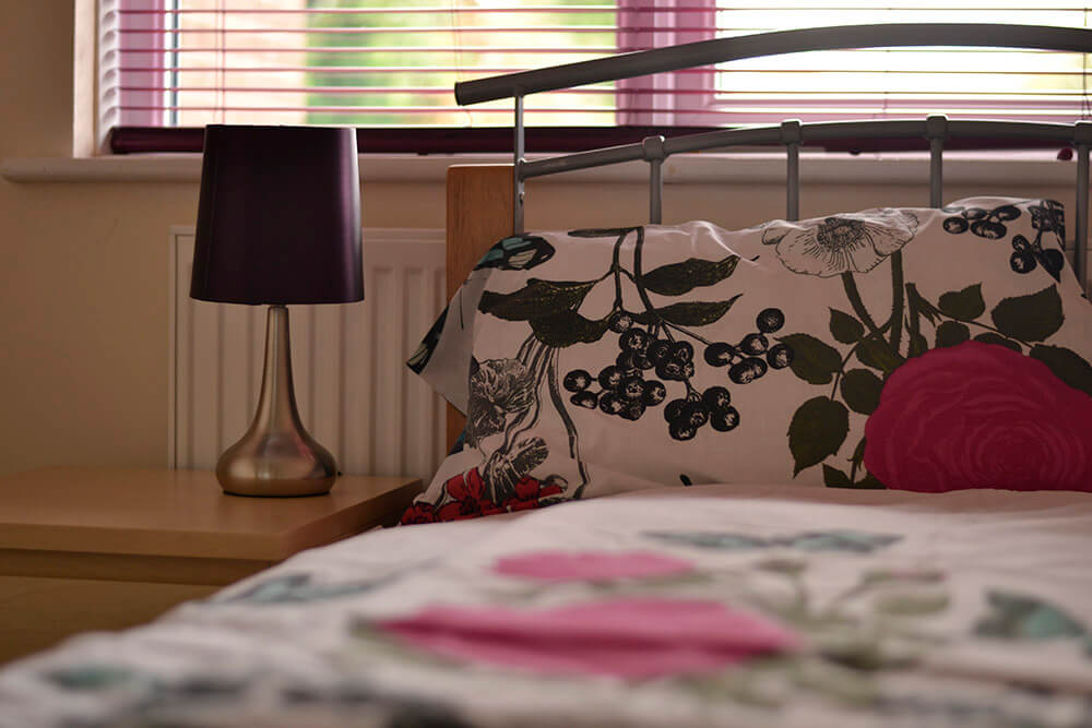 Image of bedroom for Black Country Women's Aid domestic violence refuge centre