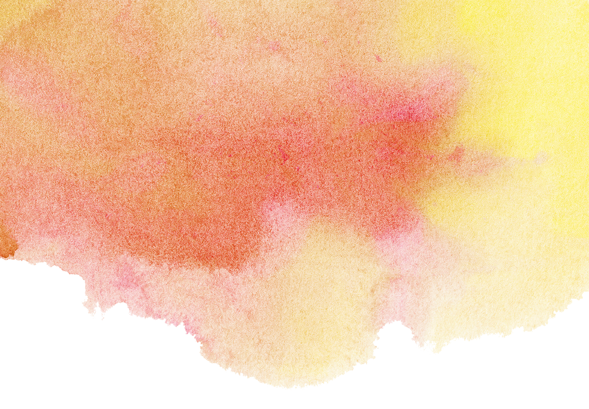 red and yellow watercolour background for Black Country Women's Aid women's justice services