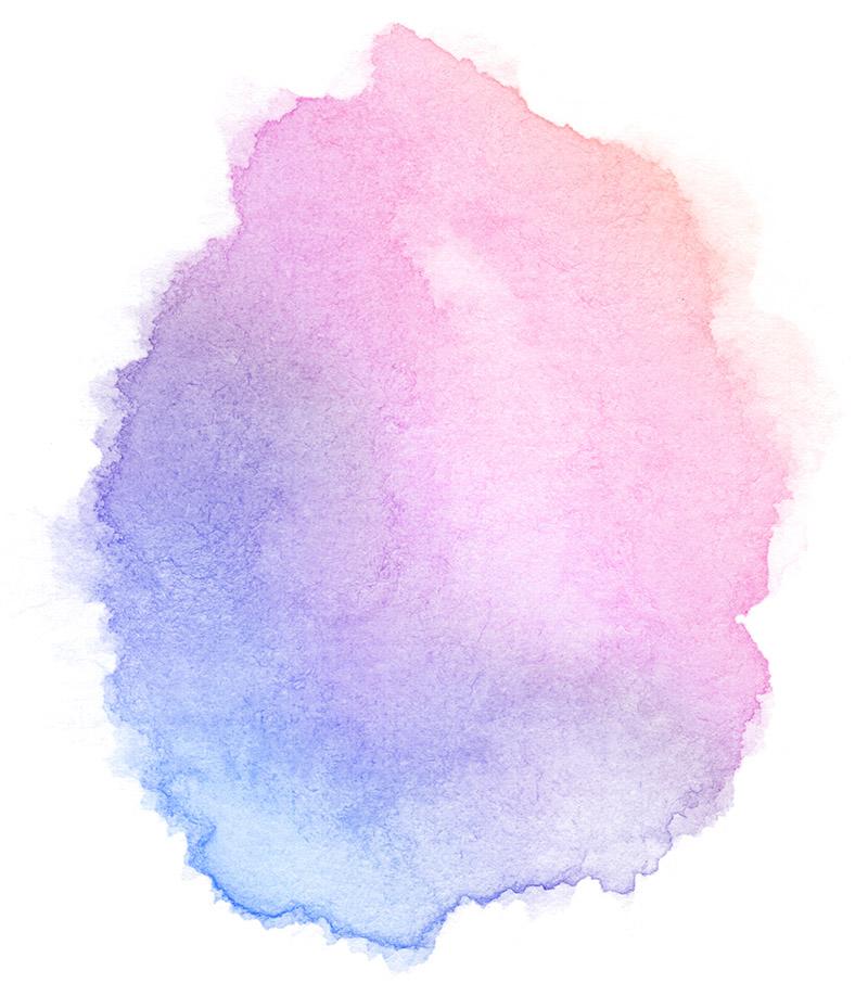 watercolour splash for Black Country Women's Aid children's services