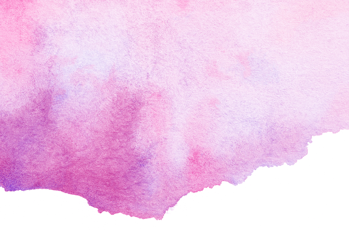pink and purple watercolour header for Black Country Women's Aid